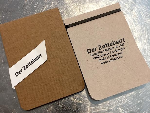 Der Zeittelwirt Notebook