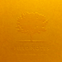 Field Notes Autumn Trilogy Embosssing