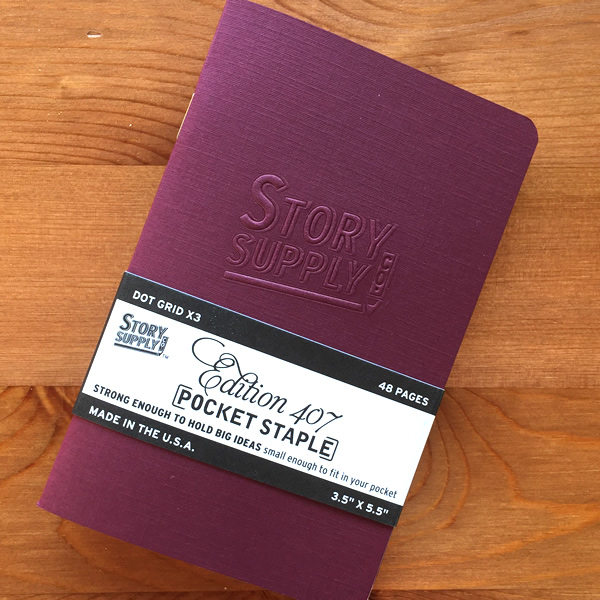 Story Supply Notebooks Pack