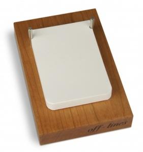 Der Zeittelwirt Notebook Stand