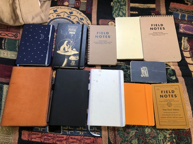 EDC notebooks and journals