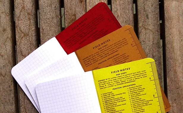 Field Notes Shenandoah inside backs