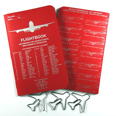 Flightbook Red